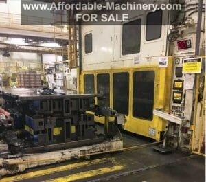 1,000 Ton Capacity Komatsu Straight Side Press For Sale