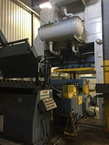 2000 Ton Danly Press For Sale