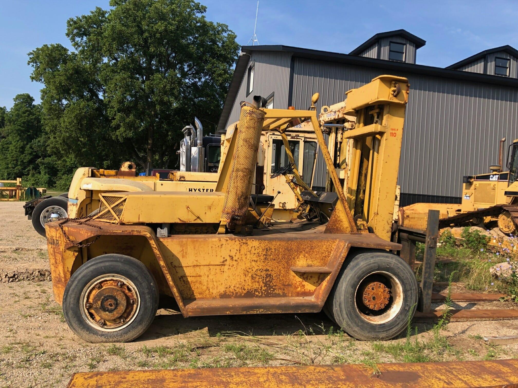 22,500 lb Capacity Cat Forklift For Sale 11.25 Ton
