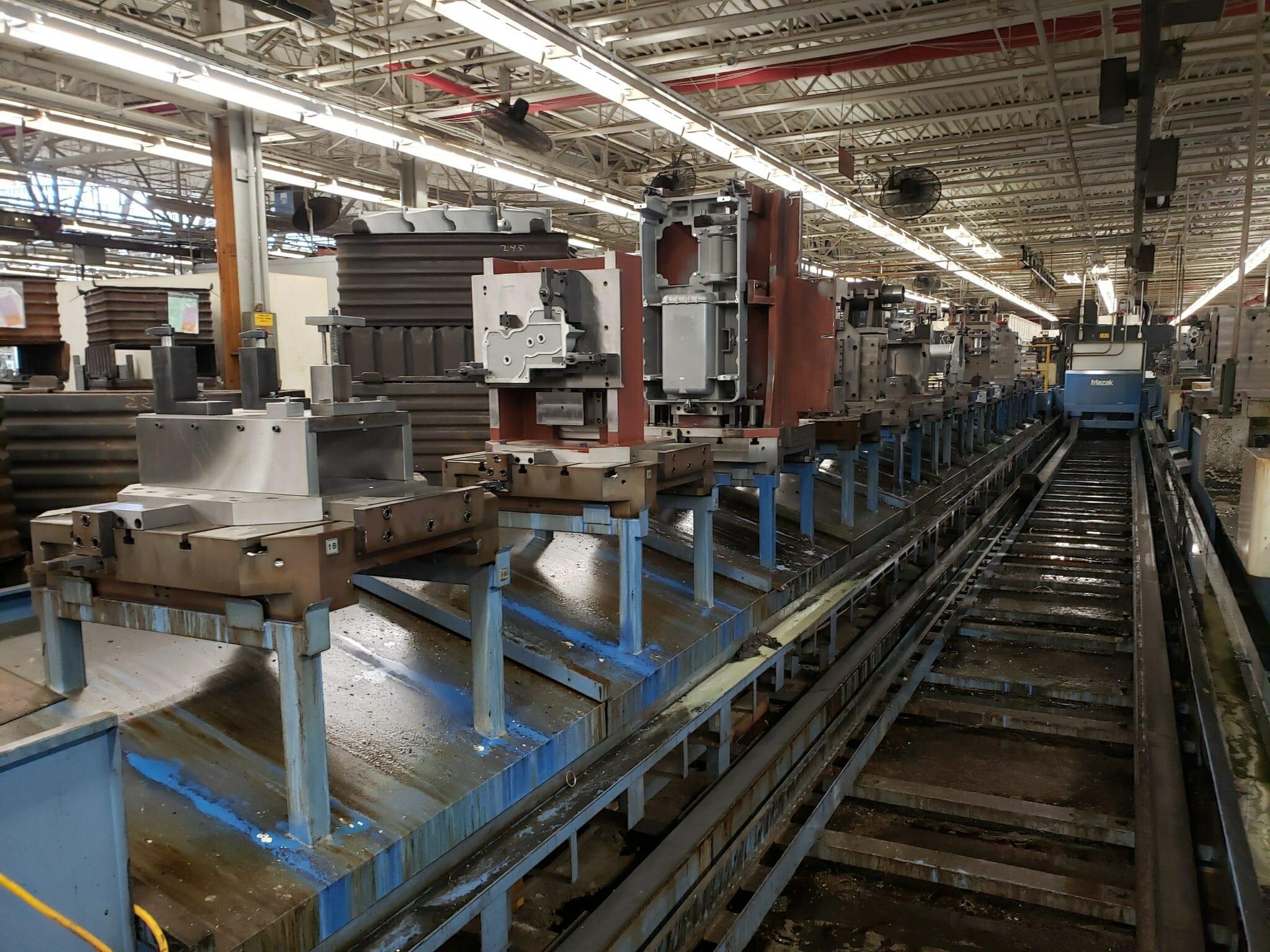 Mazak FH880 Horizontal CNC Mill For Sale