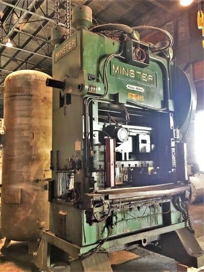 150 Ton Capacity Minster Straight Side Press
