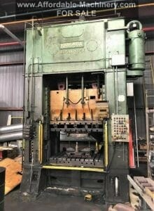 200 Ton Capacity Niagara Straight Side Press For Sale