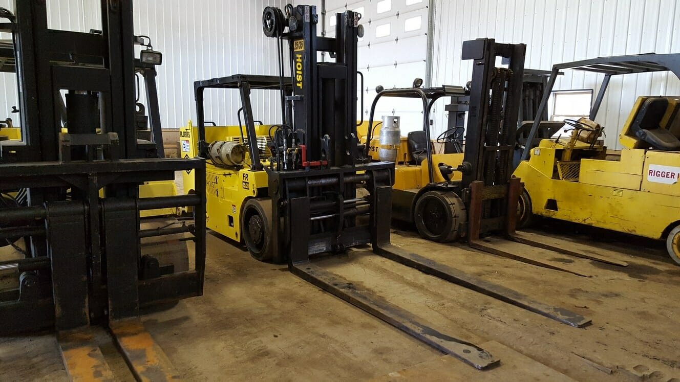25,000 lb to 35,000 lb Capacity Hoist Forklift For Sale 25/35 12.5 Ton 17.5 Ton
