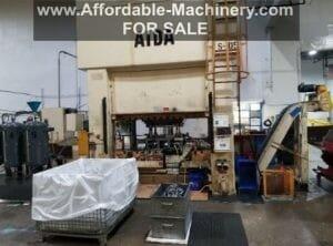 330 Ton Capacity Aida Straight Side Press For Sale