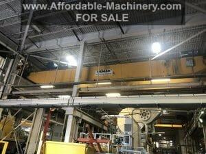 40 Ton Capacity Demag Overhead Bridge Crane For Sale
