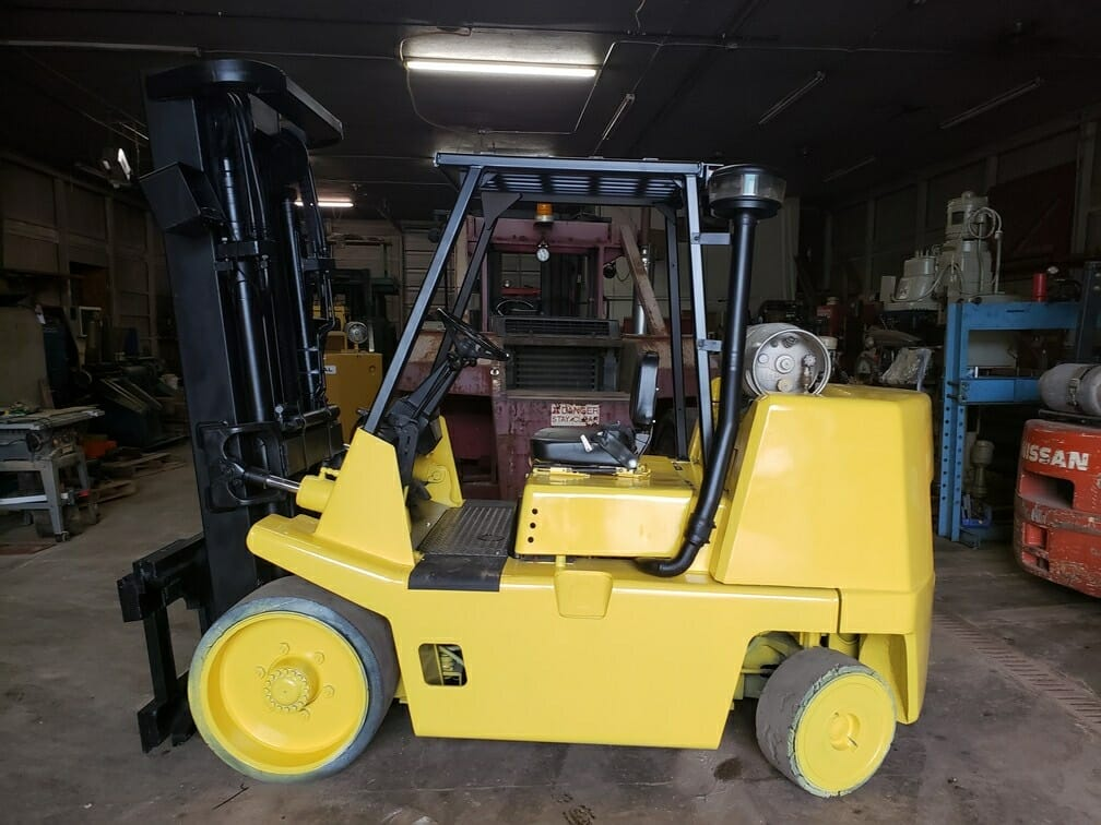 15,500 lb Capacity Yale-Hyster Forklift For Sale - 7.5+ Ton