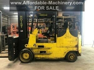 40,000 lb Capacity Hoist Electric Forklift For Sale 20 Ton
