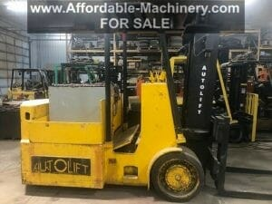 25,000 lb Capacity Autolift Electric Forklift For Sale 12.5 Ton
