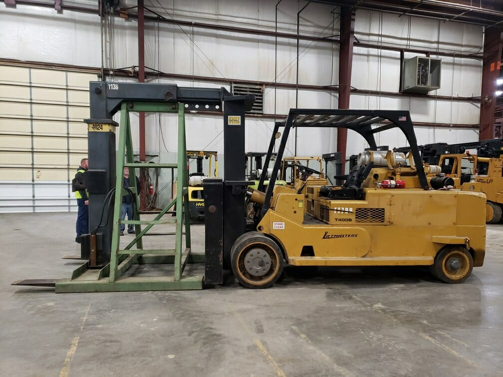 40,000lb Forklift For Sale Royal Solid Tire