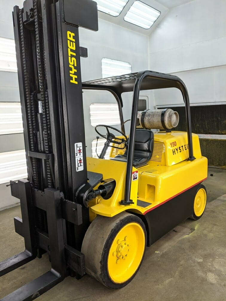 15,000 lb Hyster Forklift - Model S150A - For Sale