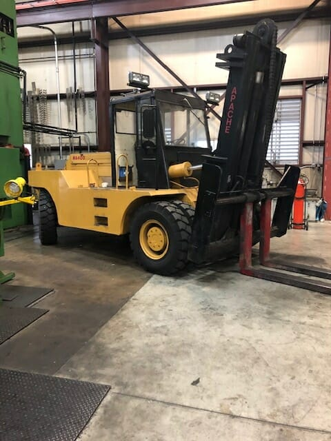 40,000 lb Apache Forklift For Sale