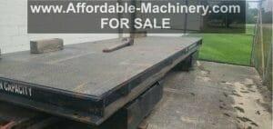 100 Ton Die Cart For Sale - 200,000lbs