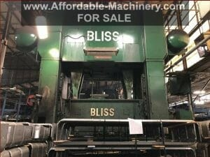 1,000 Ton Bliss Straight Side Press For Sale