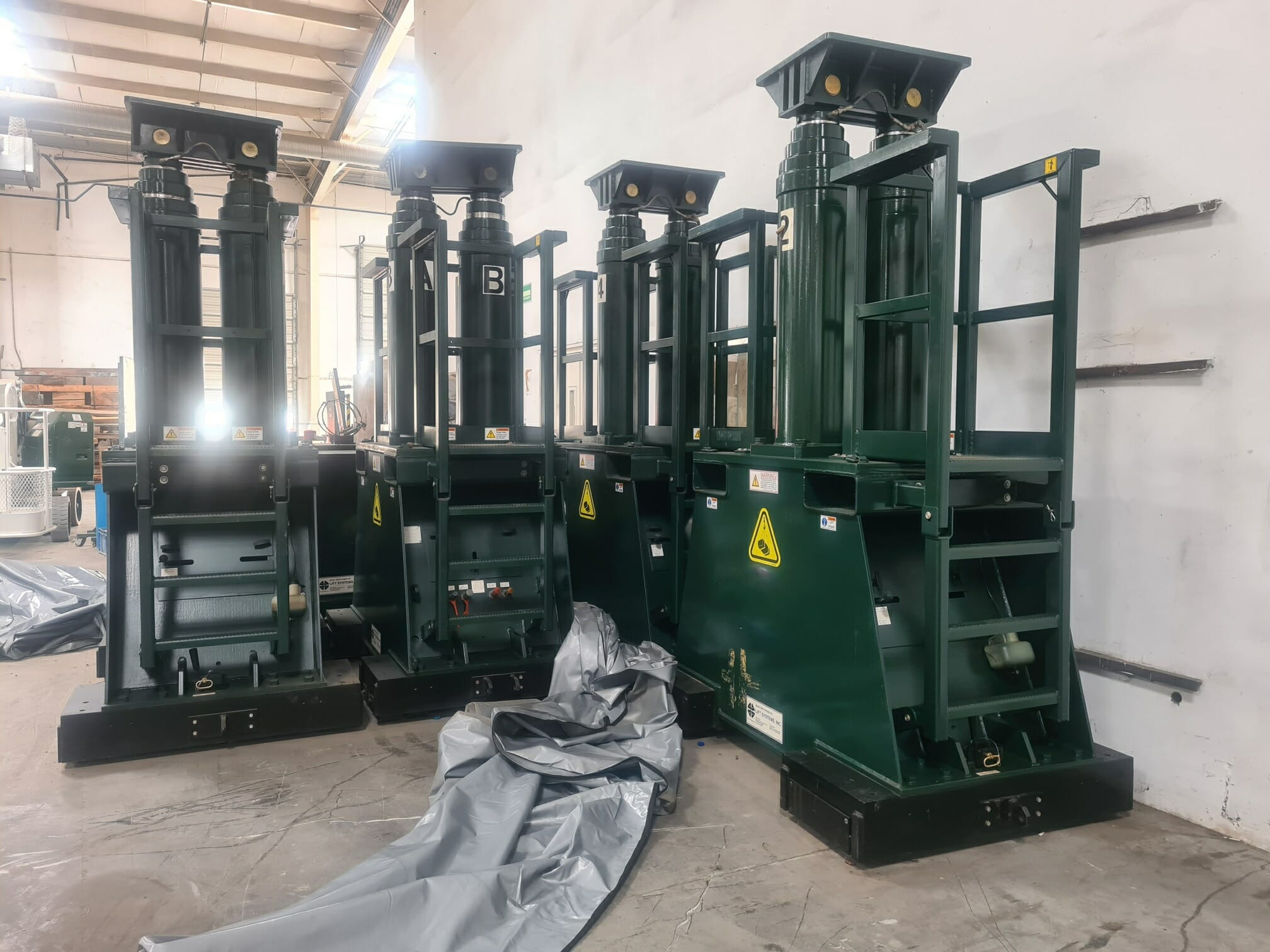 800 Ton Lift Systems Gantry For Sale